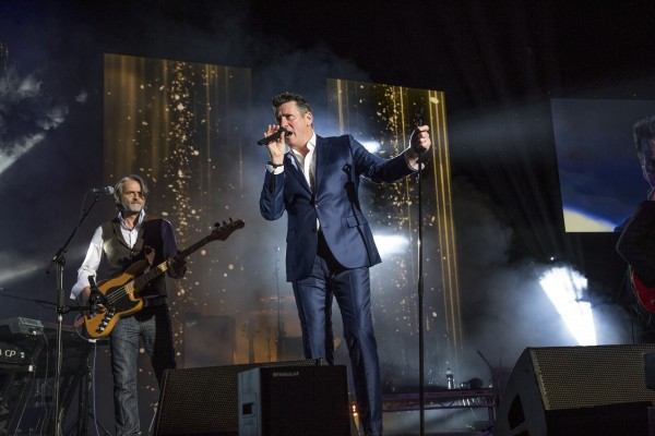 Tony Hadley performing at the Audio and Radio Industry Awards 2018 ARIAS at first direct arena in Leeds